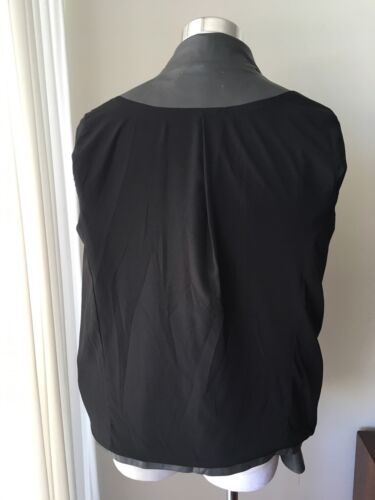 Cropped Gray Size Jacket Leather S 7w8xfgCq8