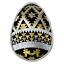 2019 CANADA  UKRAINIAN VEGREVILLE PYSANKA  99.99/% PURE SILVER COIN