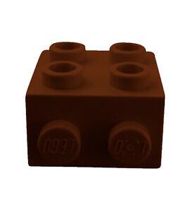 Lego-10x-Winkelplatte-1x2-2x2-braun-reddish-brown-44728-Konverterplatte-Neu
