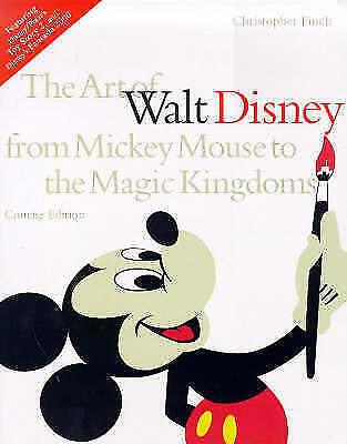 The Art of Walt Disney: From Mickey Mouse to the Magic Kingdoms-ExLibrary