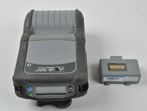 Details about Zebra QL320 Mobile Thermal Printer w/ Battery