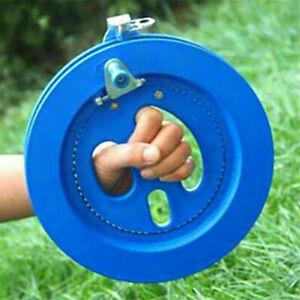 Blue-Kite-Line-Winder-Winding-Reel-Grip-Wheel-String-Flying-Tool-Winding-Machine