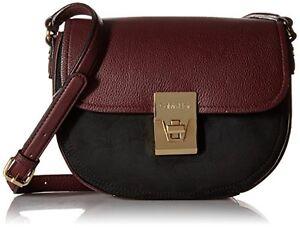 CALVIN-KLEIN-Pinnacle-Pebble-Premium-leather-suede-crossbody-Handbag-NWT