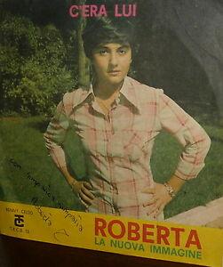 ROBERTA-amp-LA-NUOVA-IMMAGINE-7-034-AUTOGRAPH-C-039-ERA-LUI-UNA-FINESTRA-SUL-CORTILE