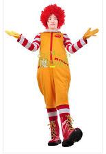 Ronald McDonald Cosplay Costume