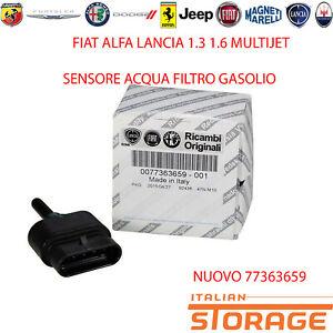 Fiat-Alfa-Lancia-1-3-1-6-Multijet-Capteur-Eau-Filtre-Gasoil-Nouveau-77363659