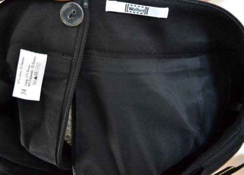 Rock 34 Midi Schwarz Skirt Bleistift Black Wolford 8w5ZIqI