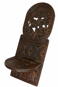 chaise africaine sculpter