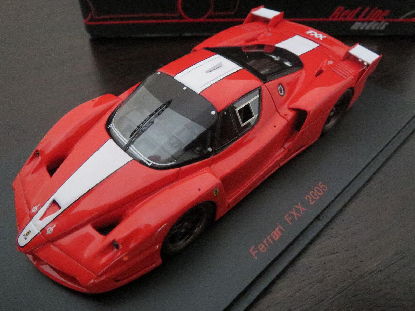 RARITÄT  rotLine models Ferrari FXX 2005, rot, 1 43, TOP  | Economy