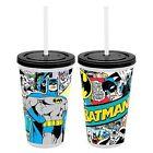 Batman Lenticular Tumbler With Straw Comic