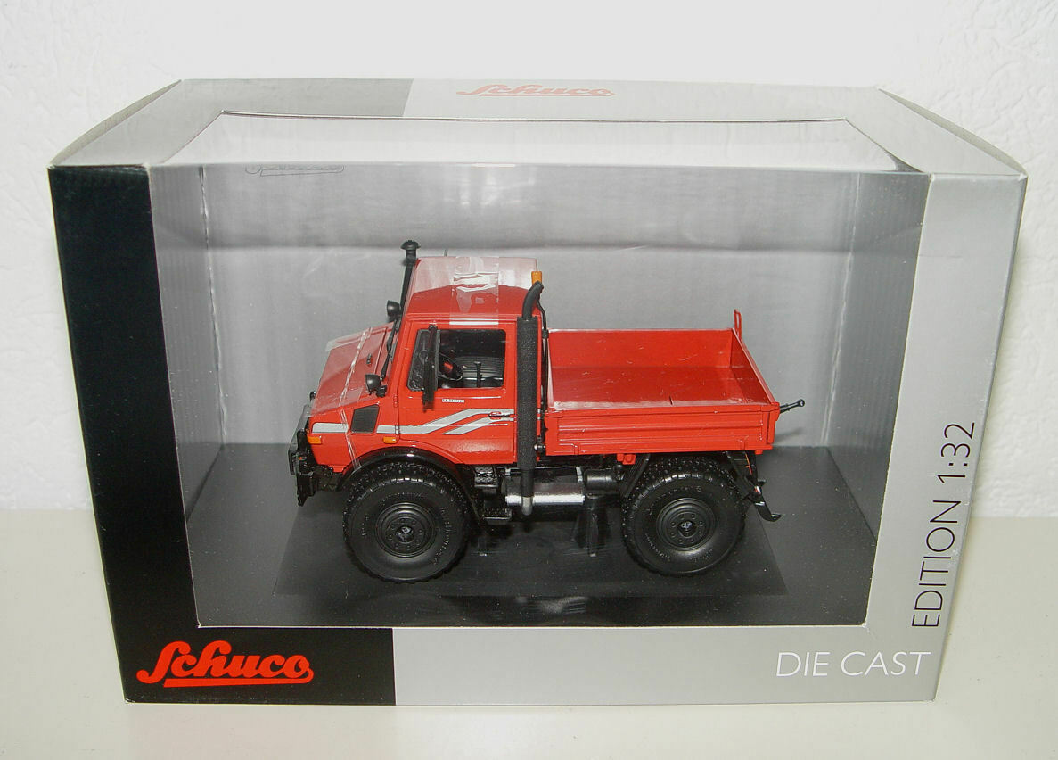 Schuco 450772600 Unimog u1600 Rosso rossoarancia-ad esempio per traccia 1 - 1 32 NUOVO OVP