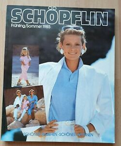 Schöpflin Katalog Versandhaus Frühling / Sommer 1985 wie