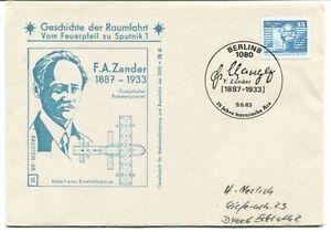 Capable 1983 Geschichte Raumfahrt Vom Feuerpfeil Sputnik 1 F. A. Zander Berlin 8 1080