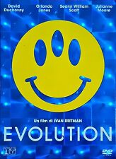 Evolution (2001) DVD Slimcase Cover 3D Rarissimo
