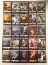 Battle for Zendikar FULL ART Basic Land Set (25x MTG cards, 1x each art) ~OASIS~
