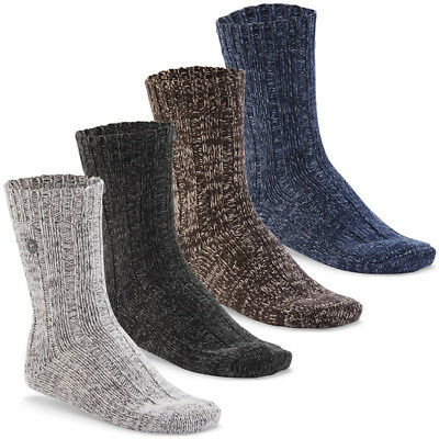 Birkenstock Fashion Twist Men Socks Comfort Cotton Mens Socks Denim Multi | eBay