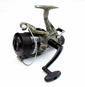 Commando-CAMO-Freespool-Carp-Specimen-Fishing-Reel-Bait-060-Size
