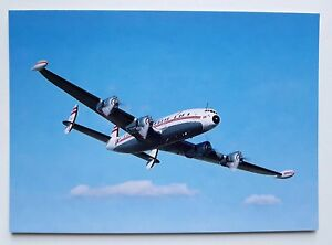SAC-Save-a-Connie-Lockheed-1049H-Super-Constellation-Postcard