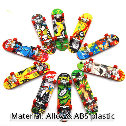Mini Funny Fingerboard Finger Tech Deck Truck Skateboard For Kids Cute Toy Gift