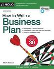 How to Write a Business Plan by Mike McKeever (Paperback / softback, 2014)