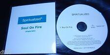 Spiritualized - Soul on Fire EU PROMO CDr spacemen 3 universal sanctuary 2008