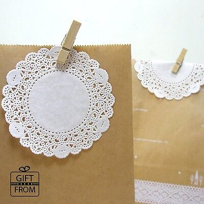 """100 White Paper Doily_Lace doilies paper_3.5"""" 4"""" 4.5"""" or 5.5"""" for wedding baking"""