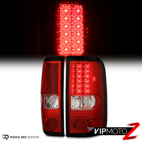 2004-2008 Ford F150 Lobo RED LED Rear Tail Lights Brake Lamps FX2 FX4 V8 V6 Cab