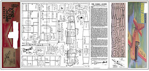 Fairy Junior Vol Libre En Caoutchouc Modèle Plan Et Pièces Patterns-afficher Le Titre D'origine