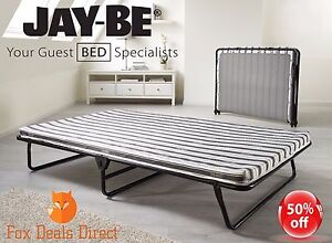 Jay-Be-Comfort-Air-Double-Folding-Guest-Bed-Mattress-J-Tex-Sprung-Base-Slimline