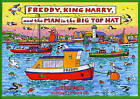 Freddy, King Harry and the Man in the Big Top Hat by Rozy Abra (Paperback, 2003)