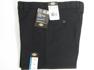 NEW Dickies Boys Navy Pants School Uniform Size 16 H Husky Flex Classic Fit