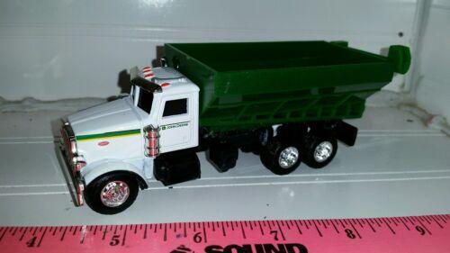 1//64 ERTL farm toy custom Peterbilt John deere fertilizer lime truck auger wagon