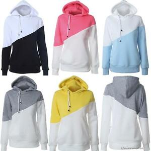 Women-Sportswear-Hoodie-Hooded-Sweatshirt-Coat-GYM-Jacket-Outwear-Sweater-Jumper