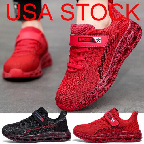 Kids Shoes Boys Girls Sneakers US 11 12 13 1 2 3 4 5 6 Little Kid Casual Sports