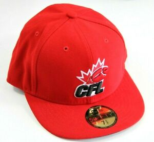 New-Era-CFL-Logo-Fitted-Hat-Size-7-5-8-60-6-cm-New