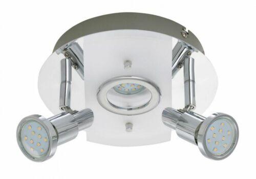 LED Deckenleuchte Briloner Splash 2292-038 Badezimmerlampe Schwenkbar 2x 3 Watt