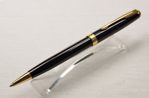 Perfect-Parker-Sonnet-Series-Bright-Black-Gold-Clip-0-5mm-Fine-Nib-Ballpoint-Pen