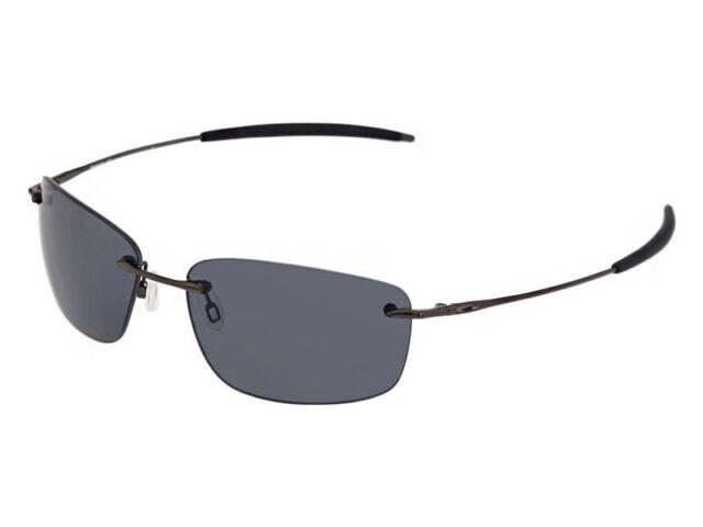 a0a214fc64 Oakley Nanowire 1.0 Polarized Sunglasses 30-753 Black Chrome Grey (no  etching)