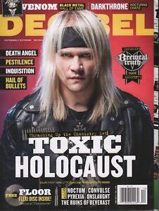 Decibel December 2013 Toxic Holocaust Death Angel Pestilence 030218DBE