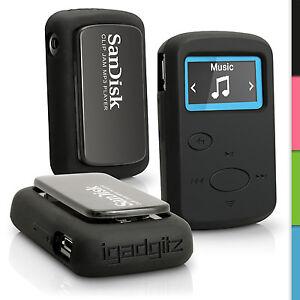 Silicone-Rubber-Gel-Case-for-Sandisk-Sansa-Clip-Jam-MP3-2015-Soft-Skin-Cover