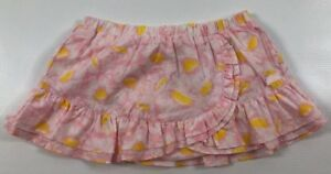 6 Months /68 Cm Sales Of Quality Assurance Pink/yellow The Cheapest Price Kenzo Girls Baby Patterned Skirt 100% Cotton