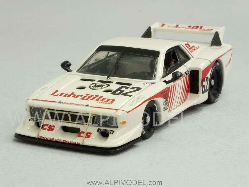 Lancia Beta MonteCochelo platastone 1981 Gabbiani - Schon - Pi 1 43 BEST 9542