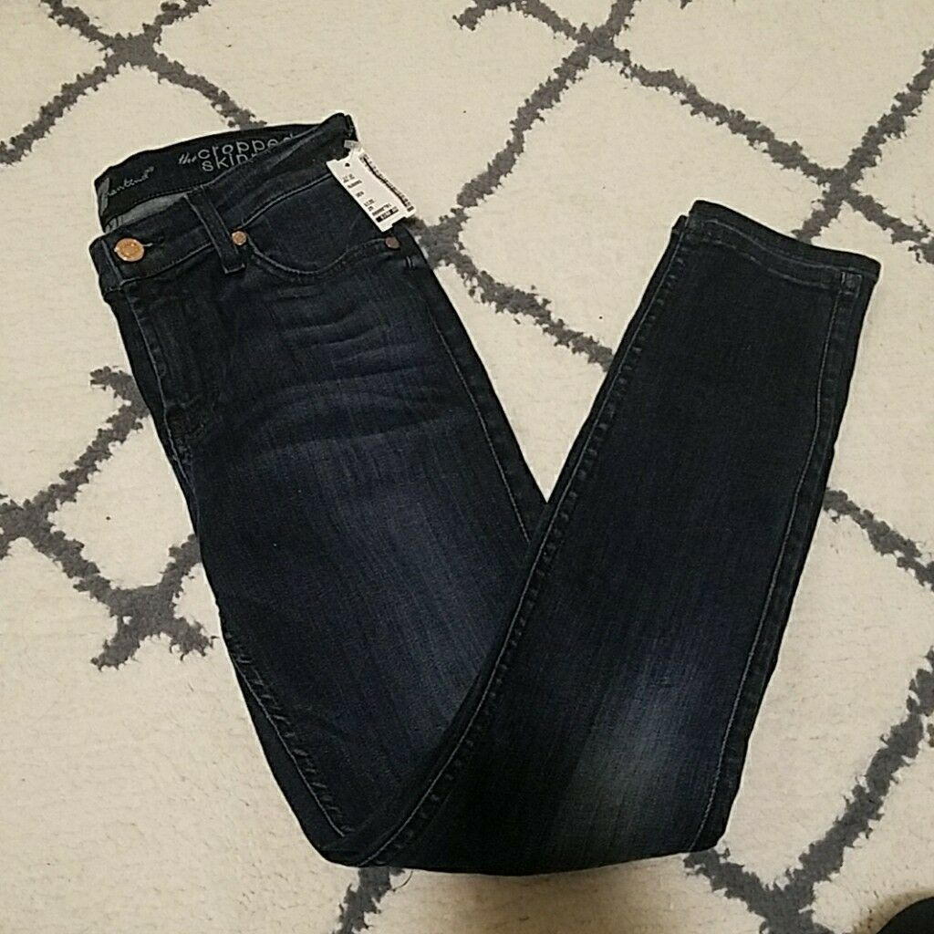 7 For All Mankind Cropped Skinny 25