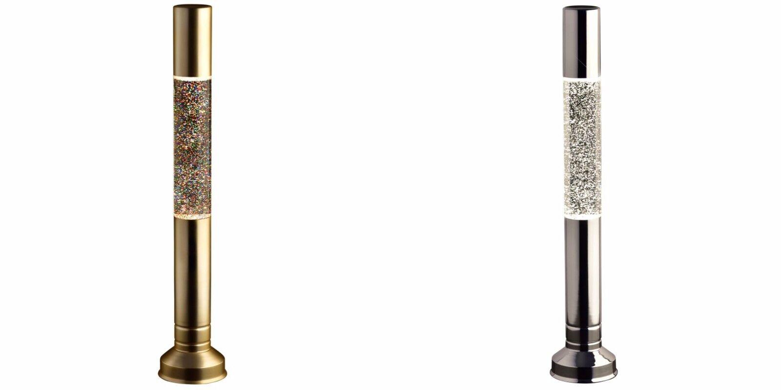 Design Vintage Flat Top Paillettes Flottant à l'intérieur CASE Lampe à Lave - 57 cm (Approx.)
