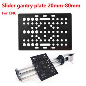 Slider Gantry Plate 20mm-80mm + Wheels for T-Slot 3D Printor T3*88mm*127mm Parts
