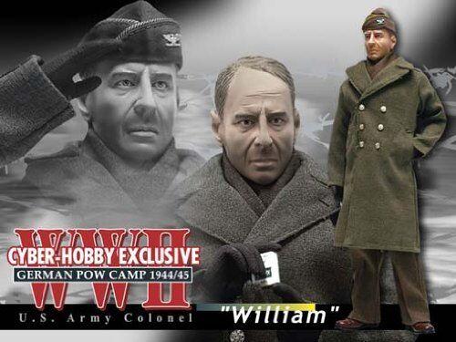 Cyber-Hobby 1/6 scale  WWII German POW Camp 1944/45 U.S. Army Colonel William