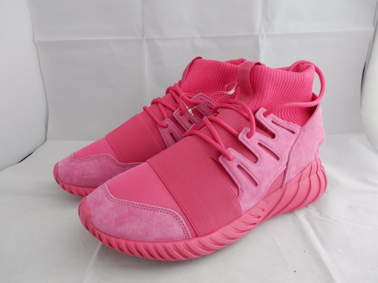 ADIDAS TUBULAR DOOM Rosa BRAND NEW TRAINERS UK 8.5 US 9 EU 42.1 3
