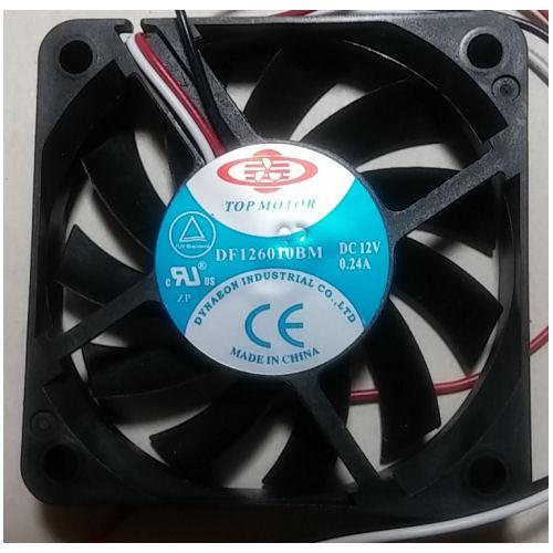 3pin Top Motor DF126010BM-3G 60mm x 10mm Ball Bearing Fan