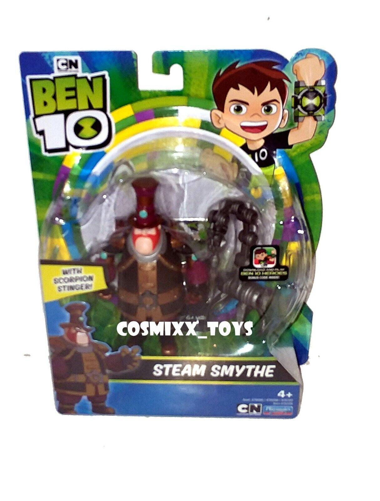 Ben 10 vapeur Smythe figurine avec Scorpion Stinger figurine action Portable 2636