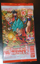 DRAGON BALL Z GT DBZ HEROES PROMO PACK CARD PRISM CARTE GDPC-01 SON GOKU SEALED